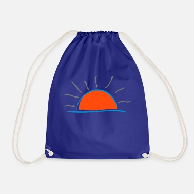 Set setting sun - Drawstring Bag