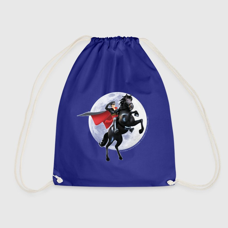 Zorro The Chronicles Horse Tornado Full Moon - Drawstring Bag