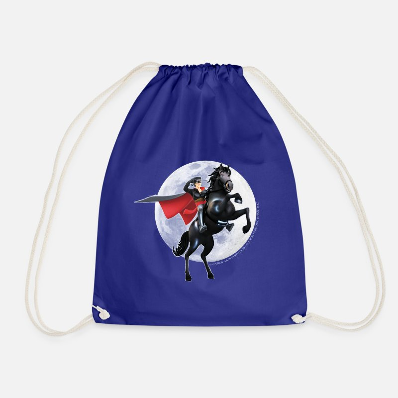 Zorro Borse & Zaini - Zorro The Chronicles Horse Tornado Full Moon - Sacca sportiva blu royal