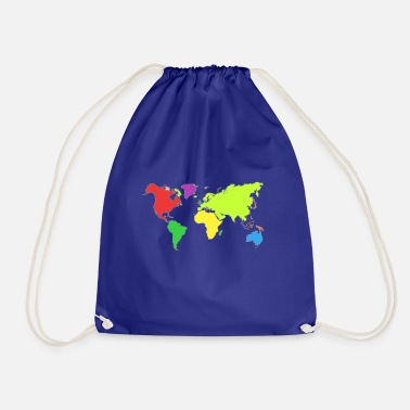 world - Drawstring Bag