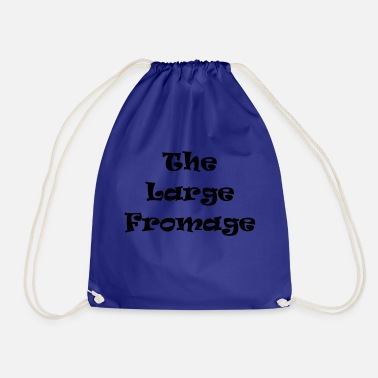 Large large fromage - Drawstring Bag