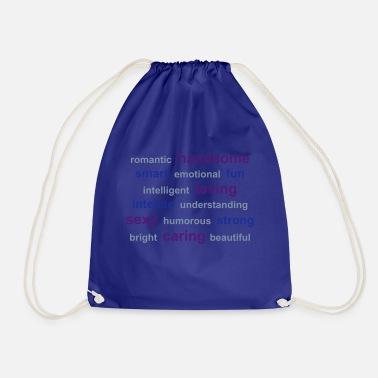 väska med liten guppe på