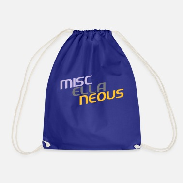 Miscellaneous miscellaneous english gift slogan colored motive - Drawstring Bag