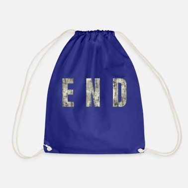 End END - The End - Drawstring Bag