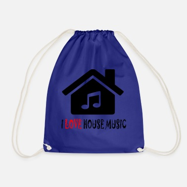 House House Music House Party Shirt - Mochila saco