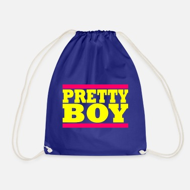 Pretty PRETTY MAN - Pretty Boy - Cool Boy - Gymnastikpåse