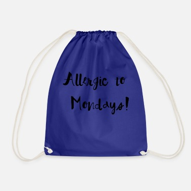 Allergy Allergy to assembly - Drawstring Bag