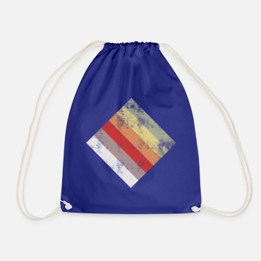 Rectangle rectangle - Drawstring Bag