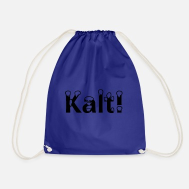Cold Cold! - Drawstring Bag
