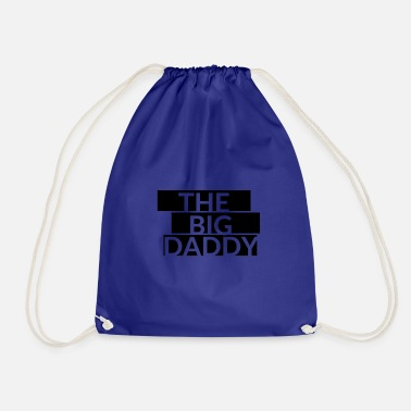 Big Daddy lettering - Drawstring Bag
