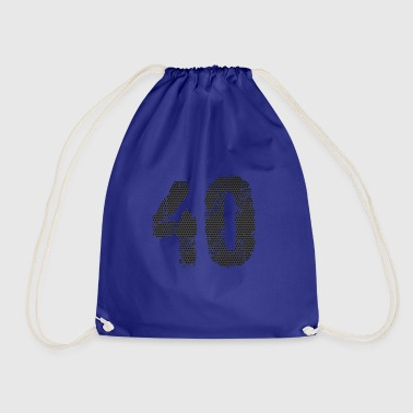 number - Drawstring Bag