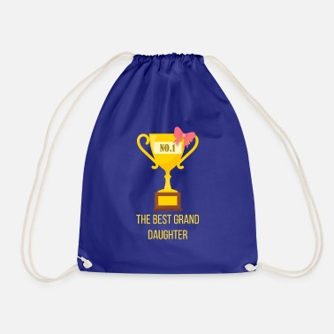 Granddaughter Best granddaughter granddaughter gift - Drawstring Bag