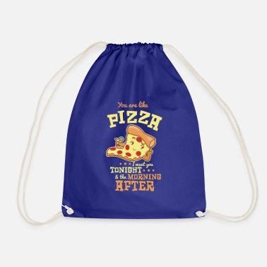 Pizza Lustiges Pizza T-Shirt Geschenk Valentinstag - Turnbeutel