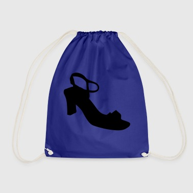 Vector highheels Silhouette - Drawstring Bag