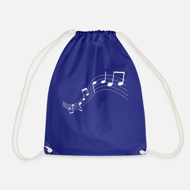 Music Note Music notes music notes - Drawstring Bag