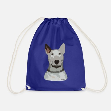 Bull Terrier Ted - Drawstring Bag
