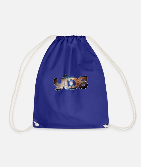 THFC Bags & Backpacks - Tottenham Yids - Drawstring Bag royal blue