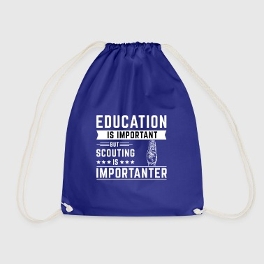 education - Drawstring Bag