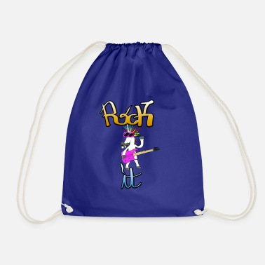 Rock Rock det Unicorn Rocker Unicorn Rock - Gymbag