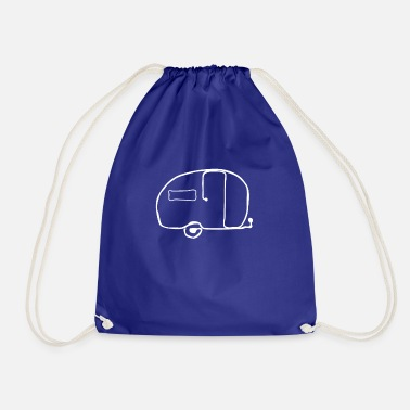 Scamp Fiberglass Camper T-Shirt - Drawstring Bag