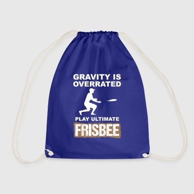 ultimate frisbee - Drawstring Bag