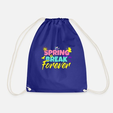 Spring Springbreak - Spring Festival - Beach Party - Drawstring Bag
