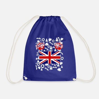 Jack Great Britain England Queen Flag Union Jack - Drawstring Bag