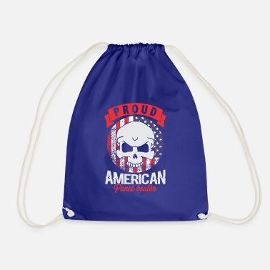 Orgogliosa bandiera americana Skull Flag - Sacca sportiva ce69cadba3fd