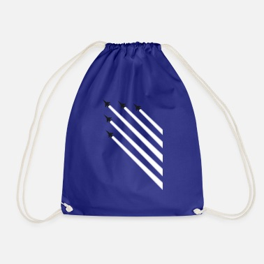 Parade Plane parade - Drawstring Bag