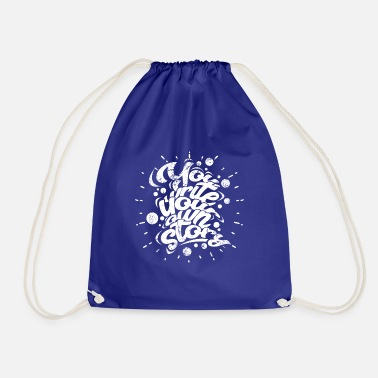 Writing Write - Drawstring Bag