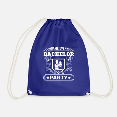 Party Game Over Bachelor Party - Drawstring Bag