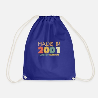 Made in 2001 Limited Birthday Gift - Drawstring Bag