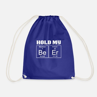 Teaching Funny Teachers Assistant Design Hold My Beer - Drawstring Bag