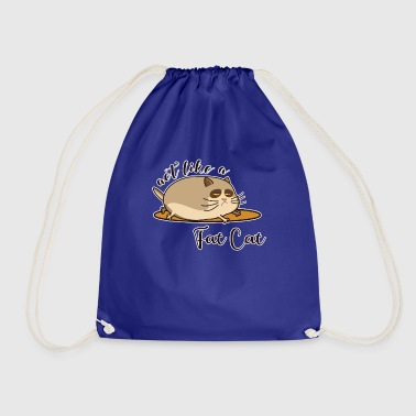 Fat Cat - Fat cat - Drawstring Bag