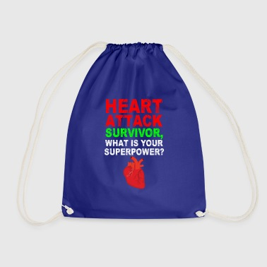 HEART ATTACK - Drawstring Bag
