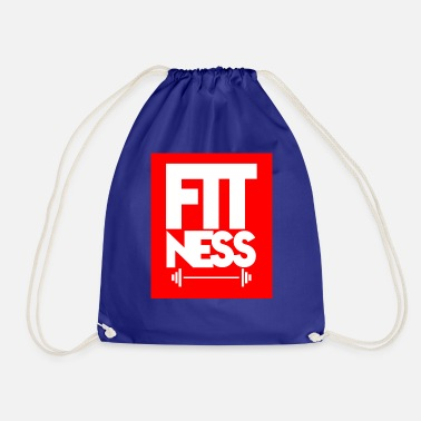 Fitness Fitness fitness - Drawstring Bag