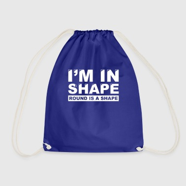 In shape is a shape - Drawstring Bag