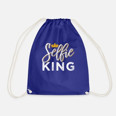 King Self ie King - Drawstring Bag