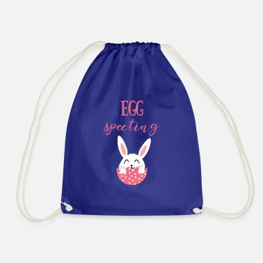 Easter Egg Easter - Easter Bunny - Easter Egg - Sweet - Comic - Drawstring Bag