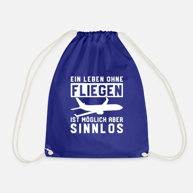Sports A life without flying Meaningless - Drawstring Bag