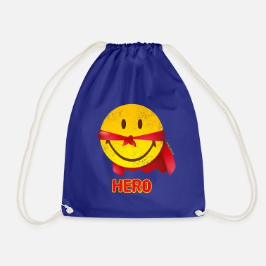 SmileyWorld Papa Hero - Drawstring Bag