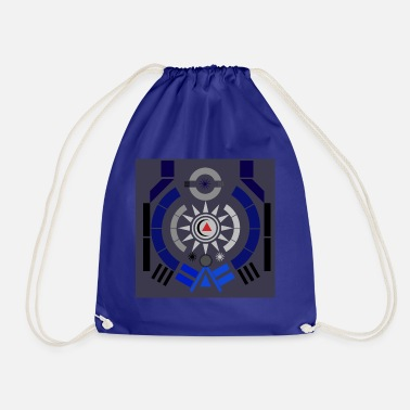 Illustration illustration - Drawstring Bag