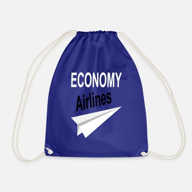 Airline airlines - Drawstring Bag