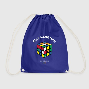 Rubik's Cube Self Made Man No Cheating - Gymbag
