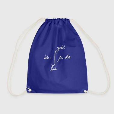 Fatigue Integral fatigue math fun - Drawstring Bag