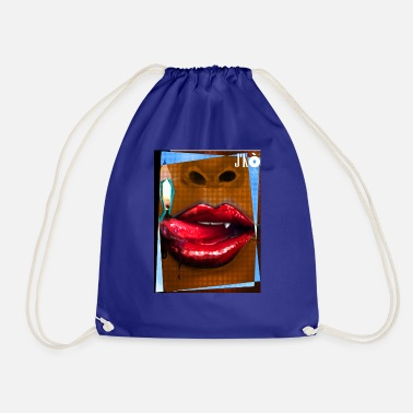 Mouth Mouth - Drawstring Bag