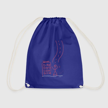 High School Graduate High school graduate, graduation Bachelor - Drawstring Bag