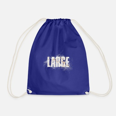 Large large - Drawstring Bag
