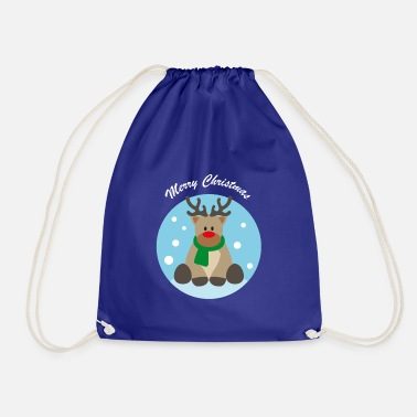 Yield yielding white - Drawstring Bag