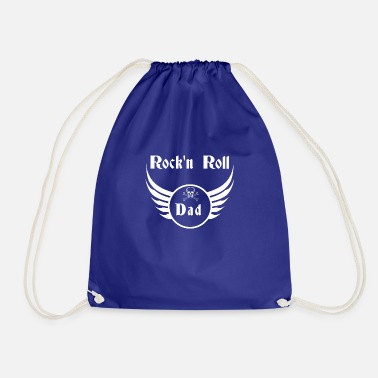 Ángel Rock and roll dad - Drawstring Bag